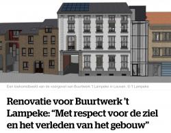 Groot renovatieproject in buurtwerk 't Lampeke